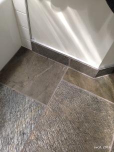 Honed quartzite Bath Floor
