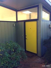 Fun entry door
