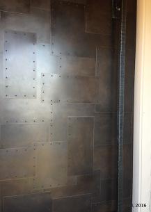 custom steel door design