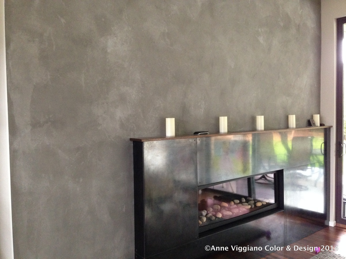 American clay feature wall steel fireplace anne Fireplace feature wall colour