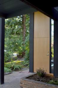 midcentury home exterior