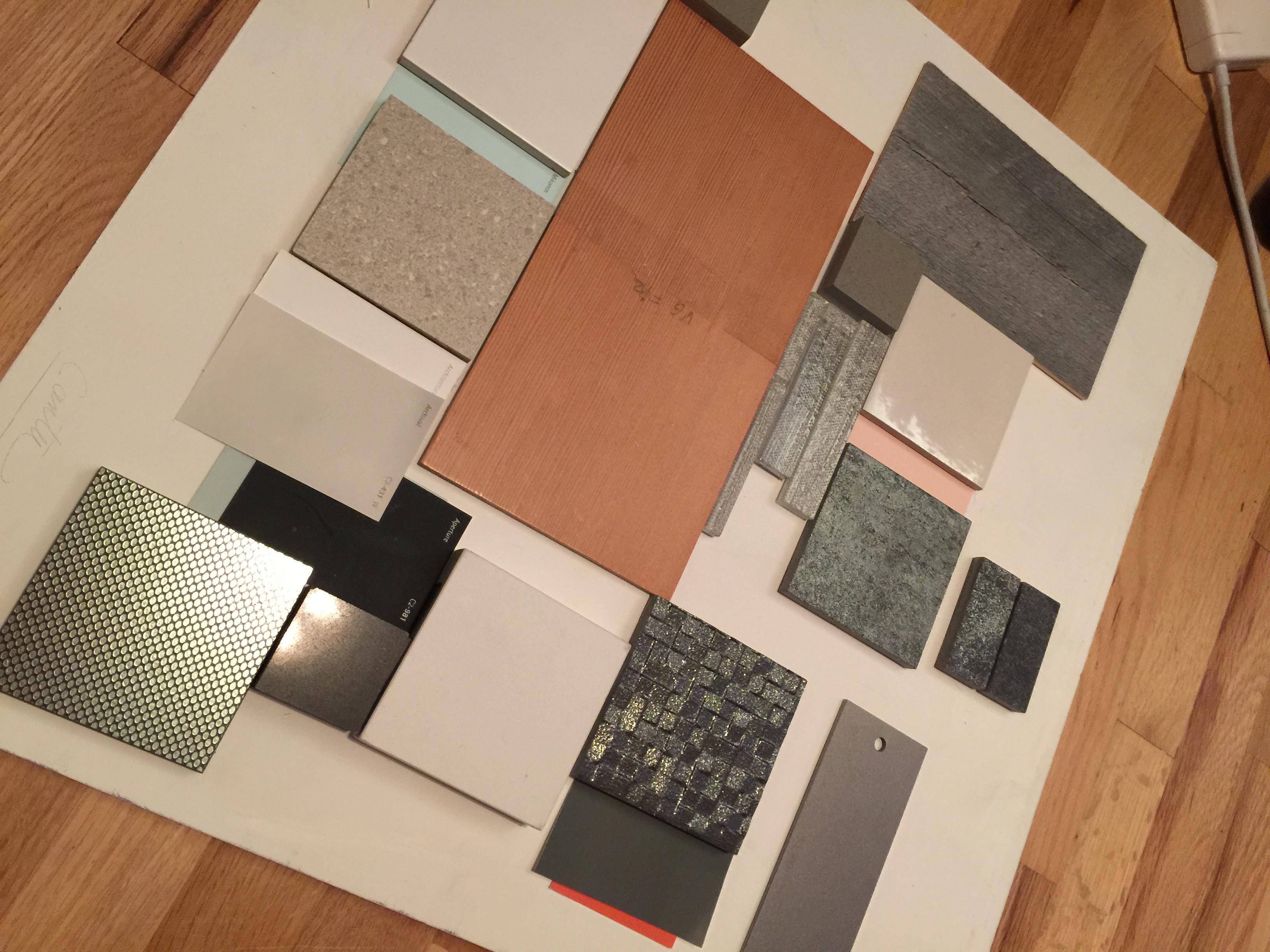 Materials for Kirkland Residence