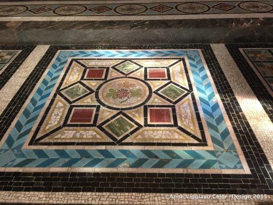European mosaic tile
